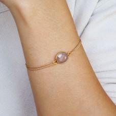 lana gray moonstone bracelet