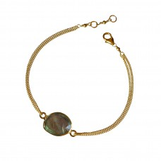 lana labradorite bracelet