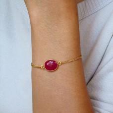 lana ruby bracelet