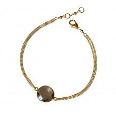 lana smoky topaz bracelet
