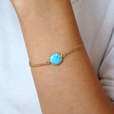 lana turquoise bracelet