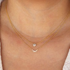 molokini diamond necklace