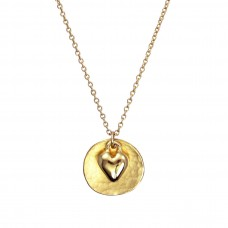 olivia heart necklace