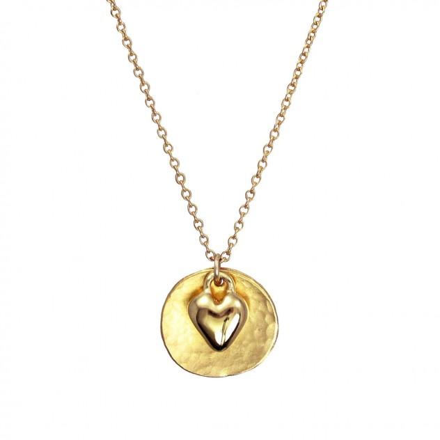 olivia heart necklace