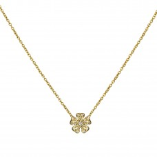 pansy diamond necklace