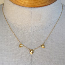 shane flat triple necklace