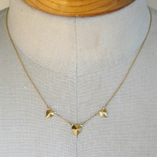shane point triple necklace