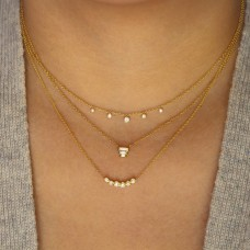 dew diamond necklace