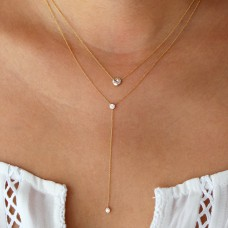 starlight diamond lariat necklace