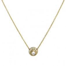 sunrise diamond necklace