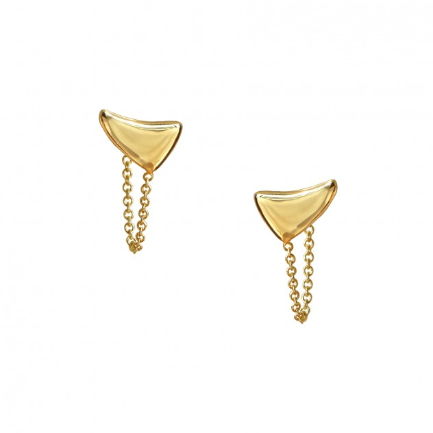 talia huggie earrings