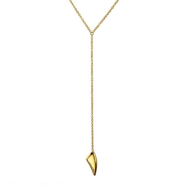 talia petite lariat necklace