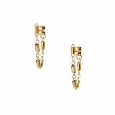 tanya huggie earrings