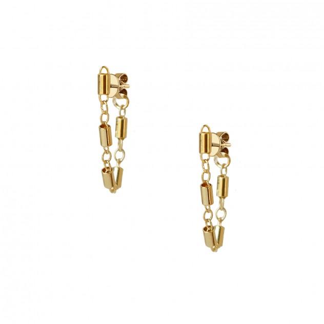 tanya huggie earrings