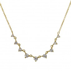 tiara diamond necklace