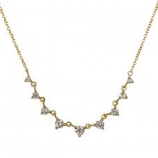 tiara diamond necklace