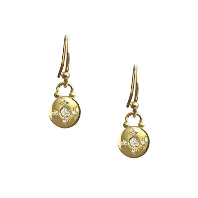 voyager diamond earrings