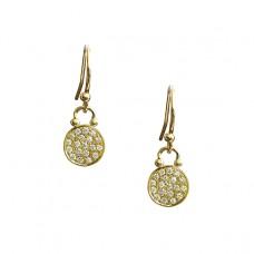 voyager all diamond earrings