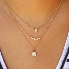 voyager all diamond necklace
